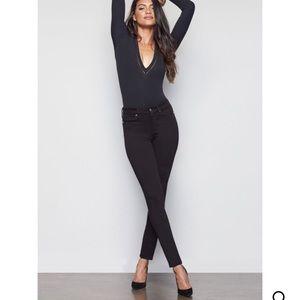 Good American Black 001 skinny jean, size 10, NWT